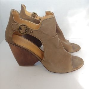 Anthro Coclico leather heels